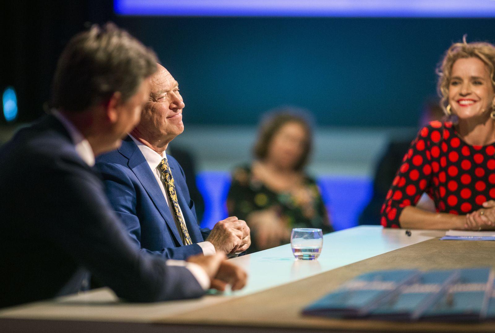 Harry van der Kraats en Aart van de Gaag -Talkshow UWV Vol Vertrouwen