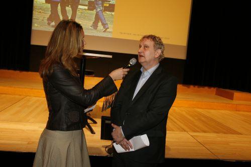 Laheij in gesprek met minister van der Laan